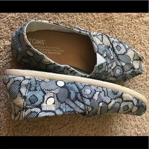 Toms Flat Shoes - Blue